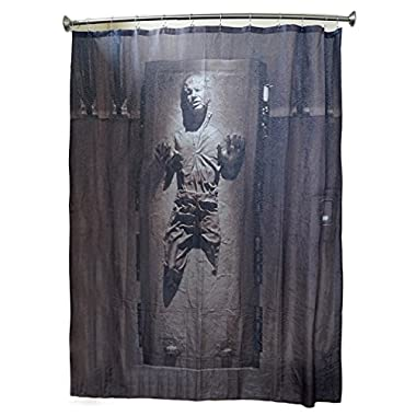 Robe Factory Han Solo in Carbonite Shower Curtain
