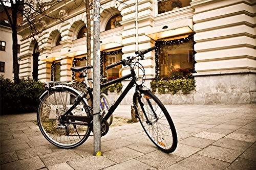 KCHUEAN Puzzle di Carta in Legno da 1000 Pezzi per Adulti Bambini Bicicletta Educativa Città Giocattolo Educativo per Bambini E Adulti Assemblaggio in Legno