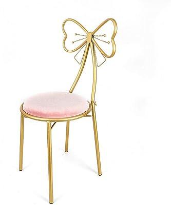 Amazon.com: LRZS-Furniture Silla de Uñas Nórdicas, Maiden ...
