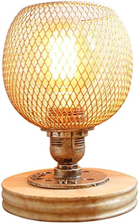 Mon5f Home Moderne Schlafzimmerkaffeebarlampe des festen Holzlampe Nachtlichtes - Leseschreibtischlampe