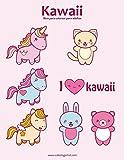 Kawaii libro para colorear para adultos 1: Volume 1...