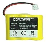 Synergy Digital Cordless Phone Battery, Works with Vtech ia5863 Cordless Phone, (Ni-CD, 3.6V, 400 mAh) Ultra Hi-Capacity Battery