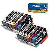 Resa in pagine: 800 pagine per 364XLcartuccia nera, 750 pagine per 364XL cartucce a colori (5% copertura di carta A4).