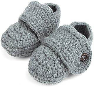 zapatos de ganchillo de bebés