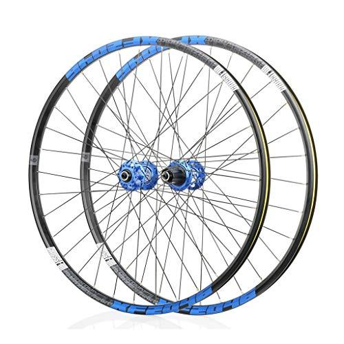 LBBL - Juego de ruedas para bicicleta (700 c, aluminio, 8 a 11 velocidades, con una sola pared, híbrido, resistente a la hebilla, color f, tamaño 66,04 cm