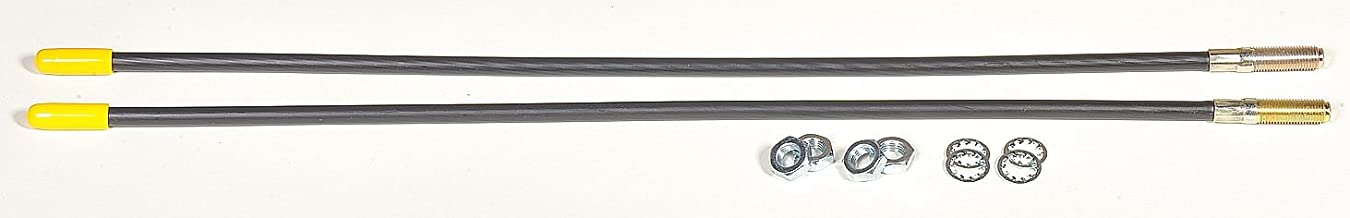 for Fisher Plow 7906K New Guide Markers // Guide Sticks PAIR 5108A BLACK 2