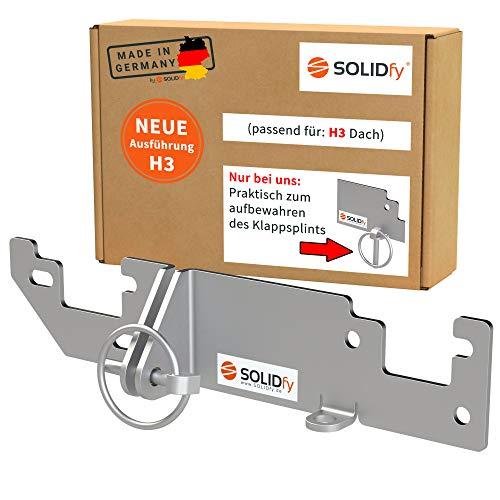 SOLIDfy® - Hecktürverriegelung H3 Dach...