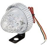 ジェットイノウエ(JET INOUE) LED3 ミニサイドマーカーランプ DC12V専用 点灯・点滅 側方灯 LEDマーカー クリアー/ブルー 532461