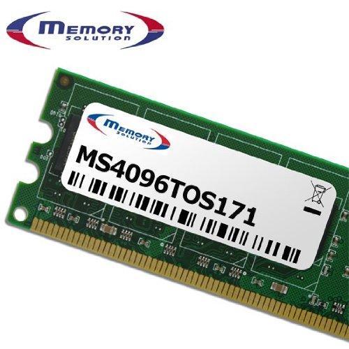 Memory Lösung ms4096tos1714GB Modul Arbeitsspeicher–Speicher-Module (4GB, Laptop, Toshiba Tecra A11)