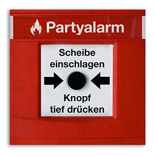 (10 x) Einladungskarten Geburtstag Partyalarm Feueralarm lustig witzig Einladungen
