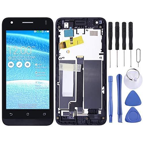 BEIJING ♋ LCDSCREEN+ / Schermo LCD e Digitizer Assemblaggio Completo con Telaio, for ASUS Zenfone C ZC451CG Z007 - Kit di Riparazione LCD per Tablet Telefono (Color : Nero)