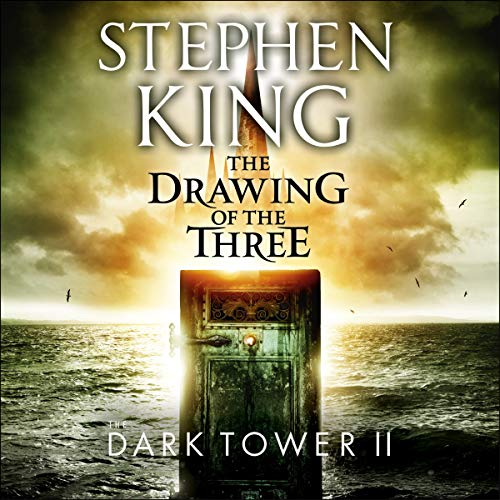 The Dark Tower II: The Drawing of the Three audiobook cover art