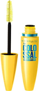 Maybelline New York Volume Express The Colossal Waterproof Mascara - 10 ml, Classic Black