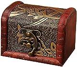 X&Z-XAOY Caja De Joyería Retro, Cajas De Almacenamiento De Joyas, Caja Pequeña, Cuadrado De Madera Precios Artesanía Decoraciones, Regalos De Souvenirs (Color : C)