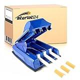 Starlet24 Zigarettenstopfmaschine Zigarettenstopfer Stopfmaschine Stopfer für Zigaretten Tabak (farblich Sortiert) Tabakfüller Stopfgerät 3er Stopfer