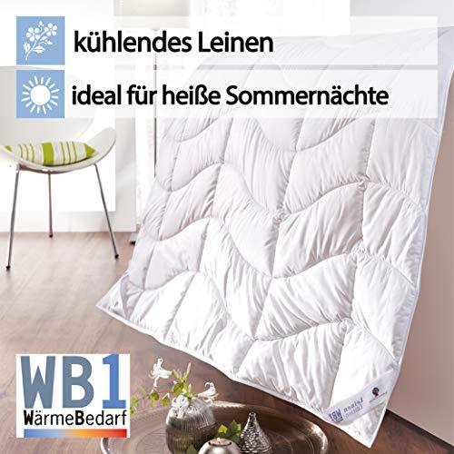 Bettdecke Dormabell Leinen Edition WB1 135/200
