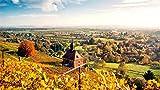 Puzzles De 1000 Piezas Para Adultos En Algún Lugar De Alemania Paisaje Colinas Montaje De Madera Decoración Para El Hogar Juego De Juguetes Juguete Educativo Para Niños Y Adultos Regalos