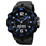 Skmei Big Dial Analog-Digital Chronograph Waterproof Sports Watch for Men and Boys
