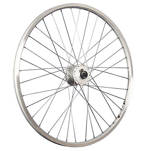Taylor-Wheels 26 Zoll Vorderrad Ryde Zac19 (geöst) / Shimano Nabendynamo DH-3N31 - Silber