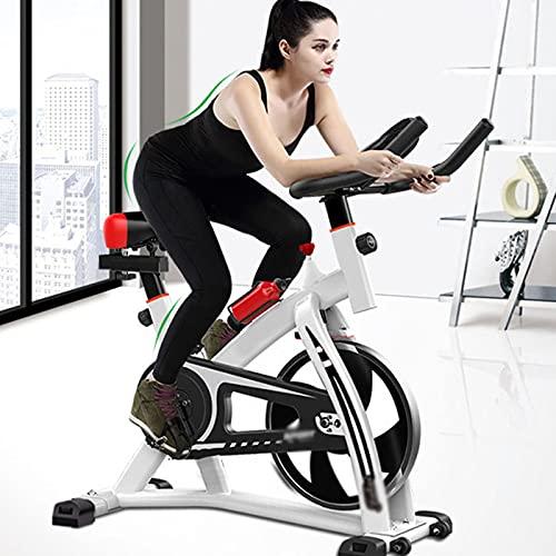 CJDM Bicicletas de Spinning, Bicicletas estáticas para Juegos en casa, Equipos de Gimnasia, Bicicletas estáticas para Interiores, Bicicletas estáticas Verticales con Bluetooth de Alta Resistencia