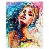 5D DIY pintura de diamante cuadro de pintura digital decoración del hogar pintura de diamante pintura digital decoración sin marco 40x50cm