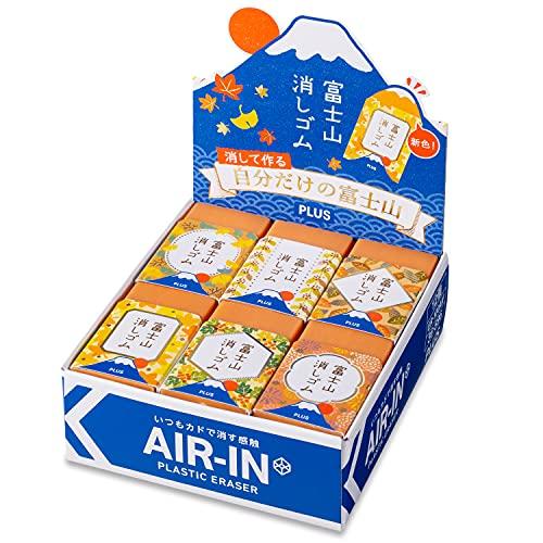 プラス 消しゴム エアイン 富士山消しゴム 秋 限定 ER-100AIF 36-596?12