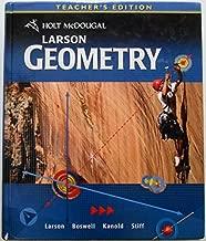 Holt McDougal Larson Geometry, Teacher's Edition