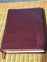 HOLY BIBLE - NKJV - WIDE MARGIN CENTER COLUMN REFERENCE EDITION - NELSON 476BG - GENUINE LEATHER