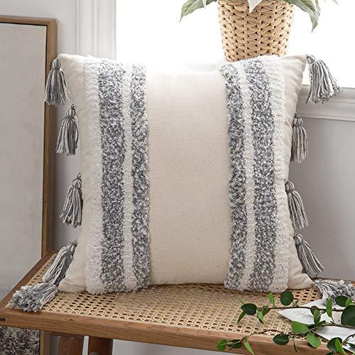 Anroduo - Funda de cojín rectangular para sofá, cama, coche, sala de estar, 1 pieza