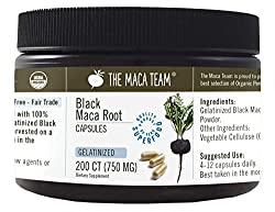 The Maca Team Organic Black Maca