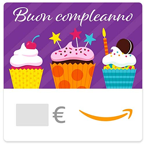 Buono Regalo Amazon.it - Digitale - Tanti auguri (arancione)