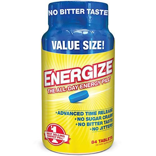 iSatori Energize Caffeine Pills - Fast Acting Energy Pill - Healthy...