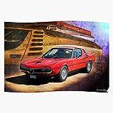 Amelius Montreal Alfa Red Coupe Romeo V8 Car,