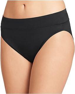 Warner's Women's No Pinching No Problems Brief Panty, Black, Medium