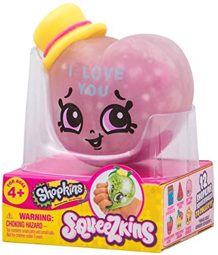Shopkins Squeezkins Candy Kisses Squeezable Gel Figure