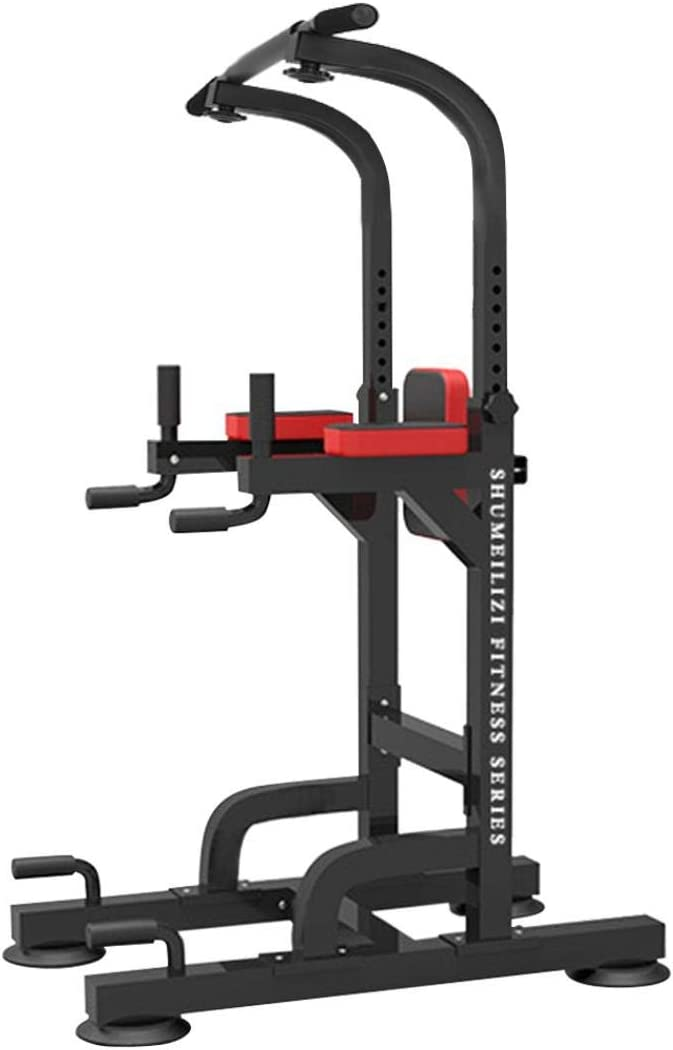 Dip Stand Chin Up Bar Power Gym Adjust Height 価格 Tower-Pull Home 返品不可