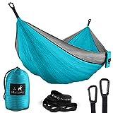 MalloMe Double & Single Portable Camping Hammock - Parachute...