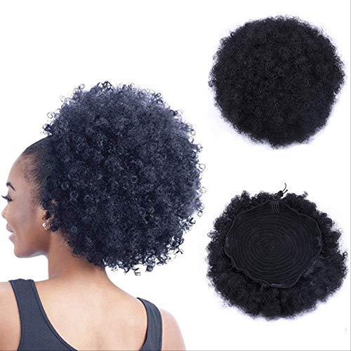 WFQ Perücke, glattes Kunsthaar, 5,1 cm lang, glatt, Lace-Front-Perücke, für schwarze Frauen, mit Baby-Teil, 150% Tt1B-30