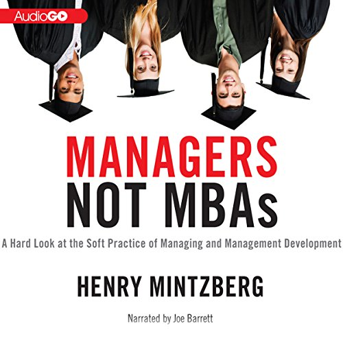 Managers Not MBAs audiobook cover art
