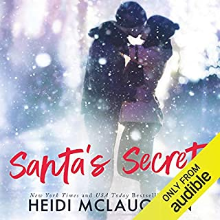 Santa's Secret audiobook cover art