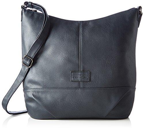 TOM TAILOR Damen Taschen & Geldbörsen Hüfttasche dark blue cognac,OneSize