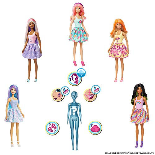 Barbie- Color Reveal Surtido de muñecas (Mattel GTP42)