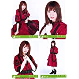 【長沢菜々香】 公式生写真 欅坂46 黒い羊 封入特典 4種コンプ