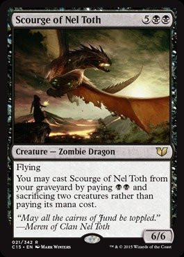 Magic The Gathering - Scourge of Nel Toth (021/342) - Commander 2015