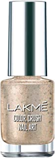 Lakme Color Crush Nail Art F1, Silver, 6 ml