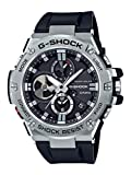 Casio Men's 'G-Shock' Quartz Resin Dress Watch, Color:Black (Model: GST-B100-1ACR)