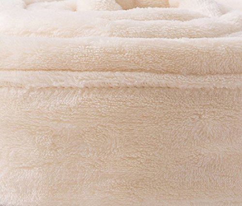 ナイスデイ mofua モフア 毛布 キング ふんわりあったか 静電気防止加工 マイクロファイバー 1年間品質保証 洗える220×200cm アイボリー 50000508
