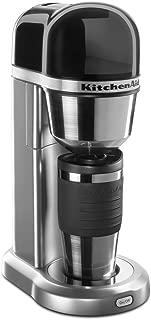 KitchenAid KCM0402CU Personal Coffee Maker - Contour Silver (Renewed)