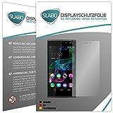 Slabo 4 x Bildschirmschutzfolie für Wiko Ridge 4G Bildschirmfolie Schutzfolie Folie Zubehör No Reflexion MATT