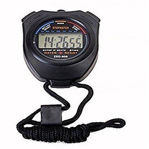 Xiton Cronometro Sportivo Digitale Portatile LCD cronografo cronometro
